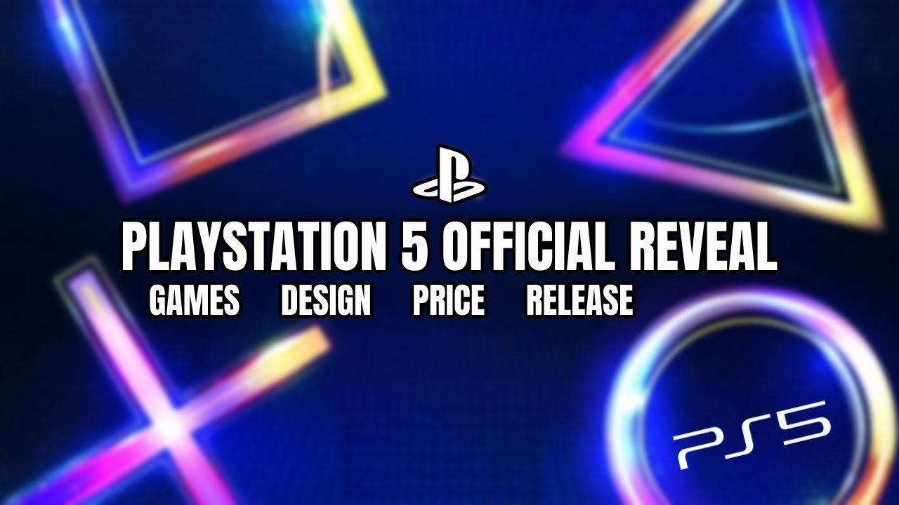 Ps5 Playstation 5 Official Reveal Ps5 Games Showcase Ps5 Design Reveal Ps5 Release Date News Youtube