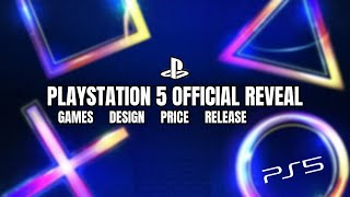 PS5 | Playstation 5 Official Reveal | PS5 Games Showcase | PS5 Design Reveal | PS5 Release Date News