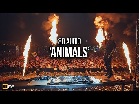 Martin Garrix - Animals | 8D AUDIO