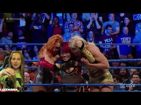 WWE Smackdown 5/1/18 Iconic Duo Carmella...