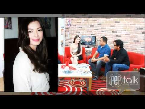 """PEP Talk exclusive: Marian Rivera on working with Angel Locsin: """"Walang problema..."""" - 동영상"""