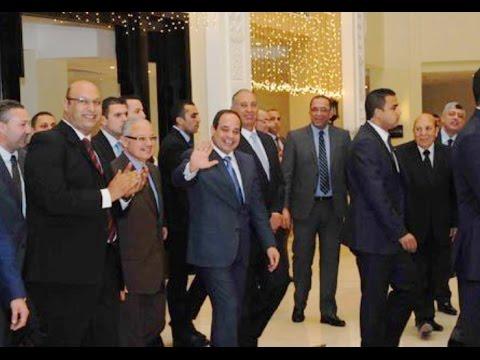 الرئيس السيسى يشهد افتتاح اعمال تطوير مبنى مطار الغردقة الدولي