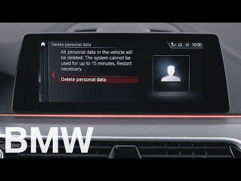 How to reset your BMW's settings with iDrive 6 – BMW How-To
