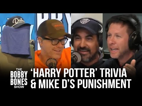 The Guys Have To Do 'Harry Potter' Trivia + Mike D Gets Punished