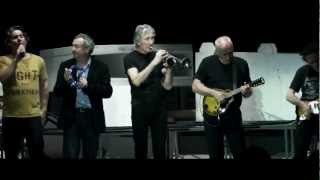 Roger Waters, David Gilmour, Nick Mason - Outside The Wall, Live @ O2 Arena HD