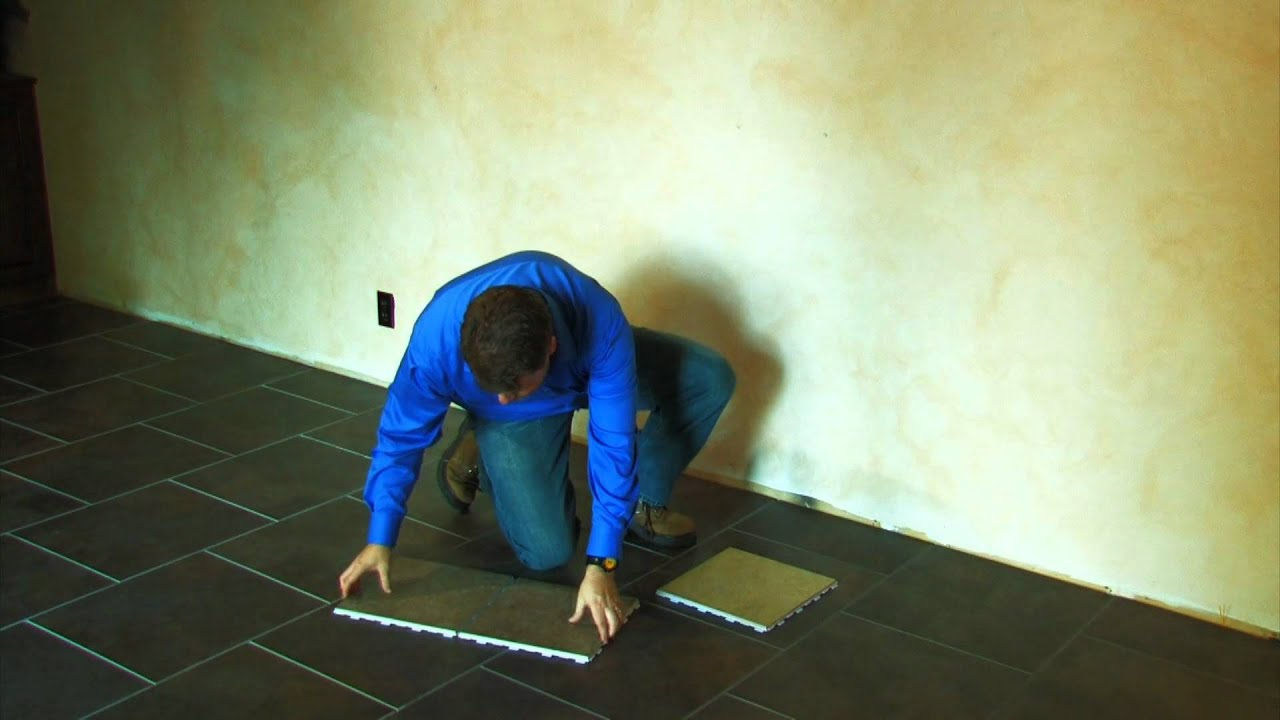 Snapstone porcelain tile installation overview youtube dailygadgetfo Image collections