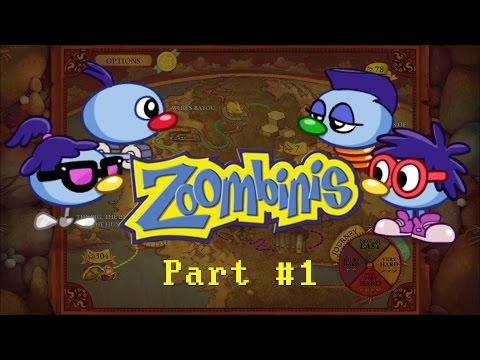 AGF8 and James Play: Zoombinis [Part 1] - Oh So Easy!