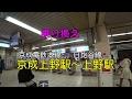 【乗り換え】京成上野駅~日比谷線上野駅(地下通路)