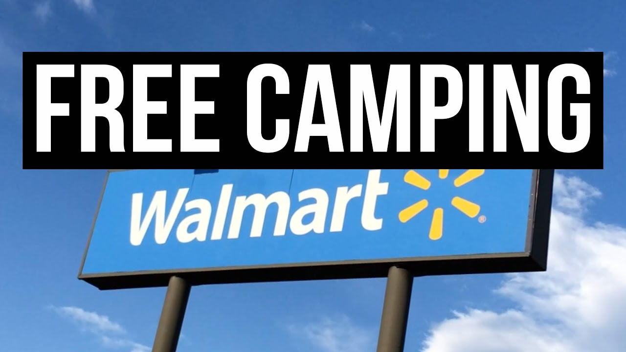 Free Camping At Walmart