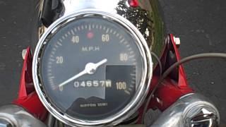 1967 Honda CL77 305 Scrambler All Original.