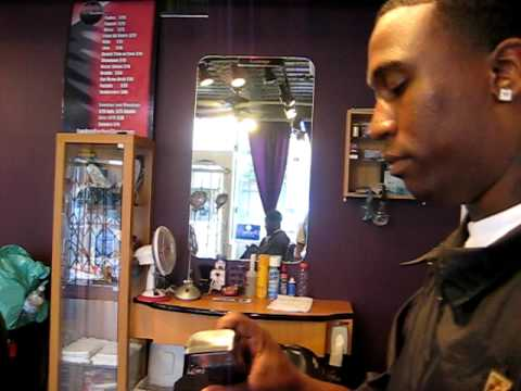 Jamil Demonstrates Haircut With Design