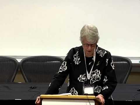 SJIL Conference   Keynote with Elizabeth Rindskopf Parker