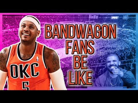 WHEN BANDWAGON FANS FOUND OUT MELO GOT TRADED TO OKC!
