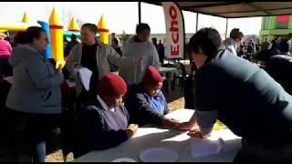 Mandela Day at Marietjie School - Video 2