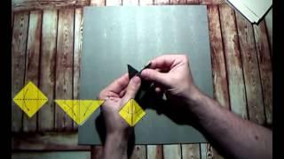 Как сделать: муха из бумаги. Мастер класс. Оригами - видео урок со схемой.