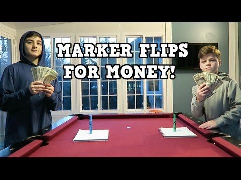 MARKER FLIPS FOR MONEY