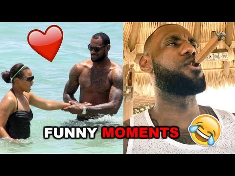 Thumbnail: NEW LeBron James FUNNY MOMENTS 2017