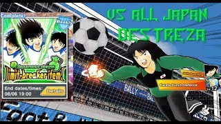 VS Todo Japón (Destreza) - Captain Tsubasa Dream Team
