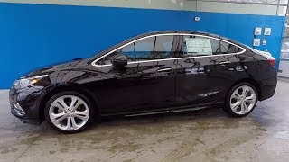2018 CHEVROLET CRUZE SEDAN PREMIER in MOSAIC BLACK