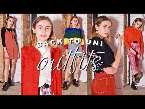 50 Back to Uni / School Outfits | Katie Joslin
