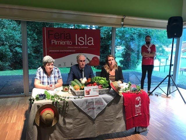 Presentación V Feria de la Huerta y el Pimiento de Isla