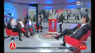 Raitre, agorà, intervento di La Russa: Basta immigrati, il 18 tutti a Reggio Calabria