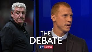Were Aston Villa right to sack Steve Bruce? | Steve Sidwell & Craig Bellamy | The Debate