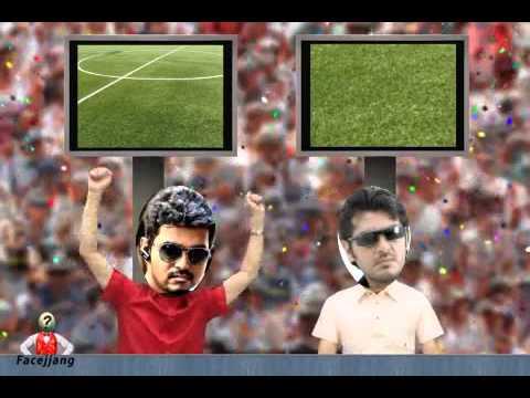 Ajith vs vijay funny scenes youtube.