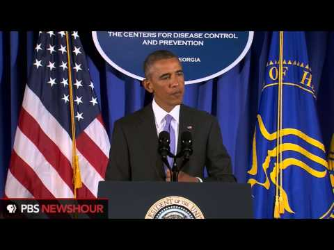 President Obama announces plan to combat Ebola in Africa