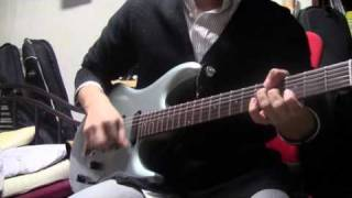 abingdon boys school-キミノウタ guitar-Musicman Luke effect-amplitu...