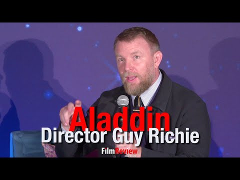 Aladdin Director Guy Ritchie on why he was good for Aladdin
