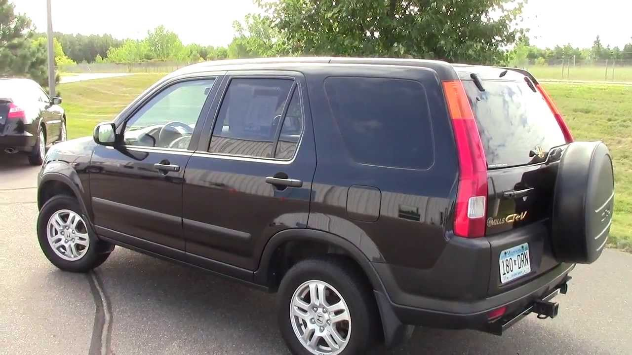 2003 honda cr v ex reviews