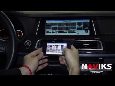 2013 BMW 7 Series F01 NAVIKS Video Integration Interface Apple TV + iPhone 5