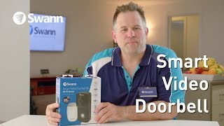 Swann Smart Video Doorbell Review: Unboxing, Setup, Demo. Wire-free HD 720p Camera