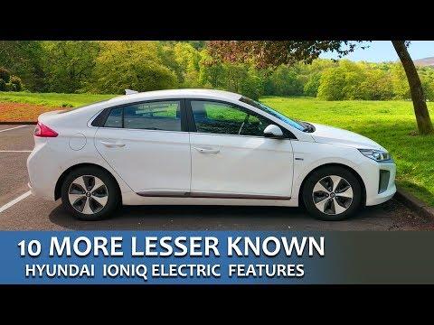 10 More Lesser Known Features Hyundai IONIQ Electric UK
