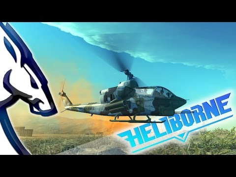 Heliborne: Advanced Flight Model First Test Flight