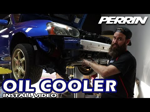 HOW TO INSTALL A PERRIN OIL COOLER (2005 SUBARU WRX)