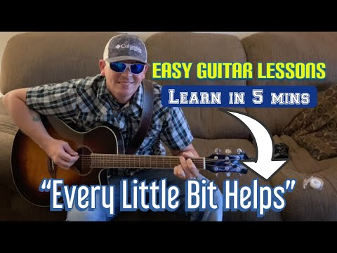 Luke Combs | Every Little Bit Helps | Guitar Tutorial