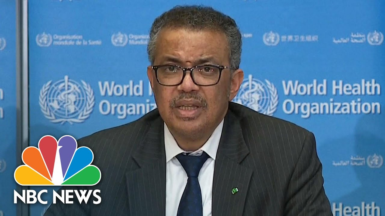 WHO: 'Europe Has Now Become The Epicenter Of The Pandemic' | NBC News
