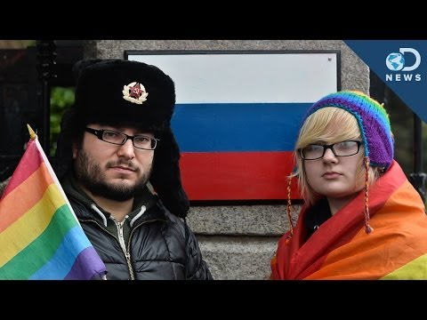 Things More Acceptable Than Being Gay in Russia