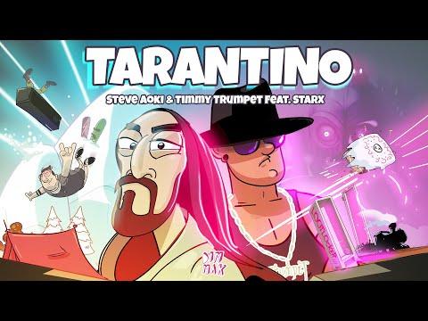 Смотреть клип Steve Aoki X Timmy Trumpet Ft. Starx - Tarantino
