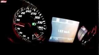 SLS AMG Roadster 0-327 km/h Top Speed Sound Test sport auto