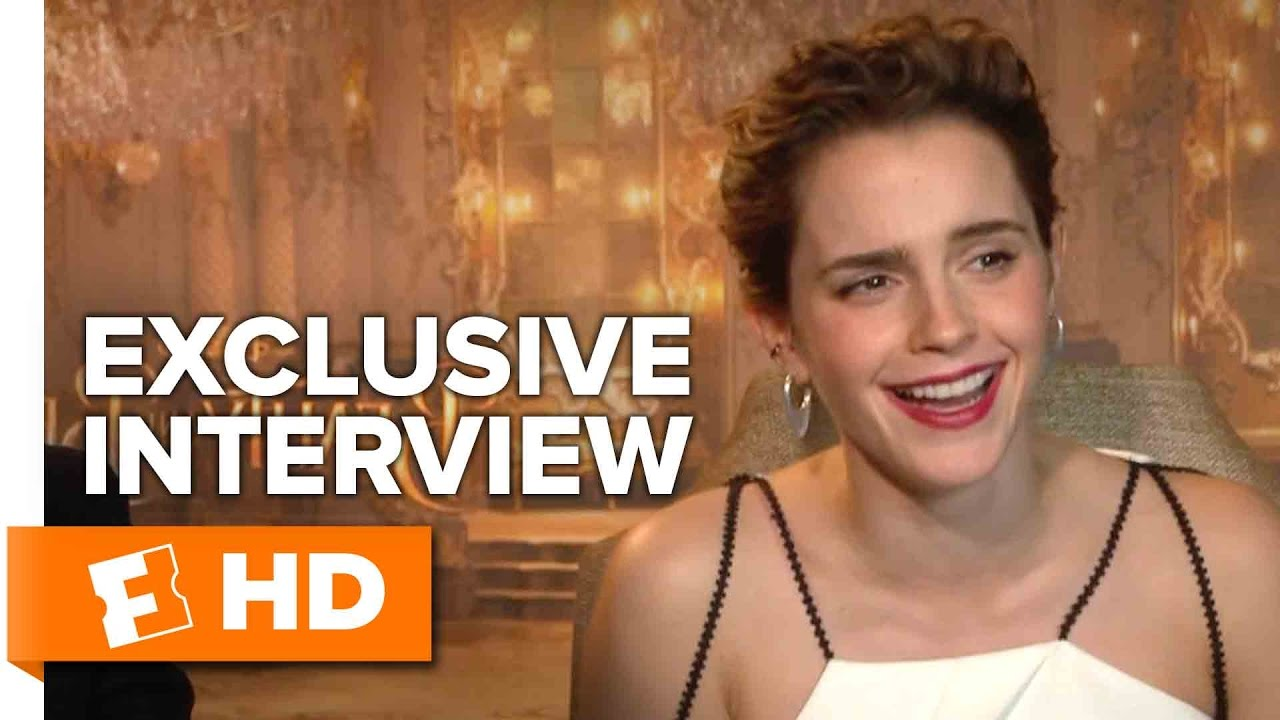 Emma Watson And Dan Stevens Exclusive Beauty And The Beast Interview 2017 Youtube