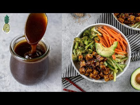 Restaurant-Style Teriyaki Tofu Bowls ���� | Easy + Vegan