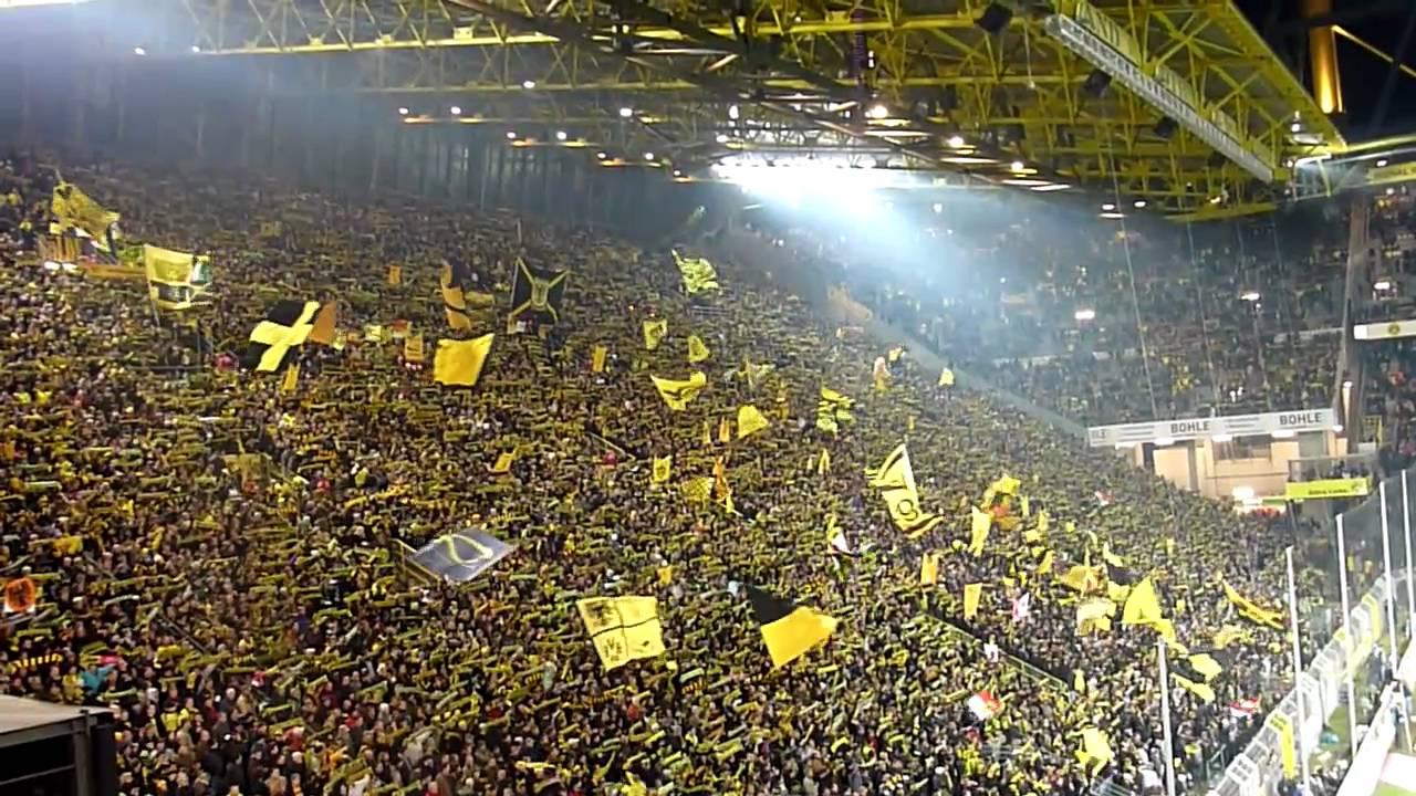 """You""""ll Never Walk Alone + Mannschaftsaufstellung BVB - Mönchengladbach"""