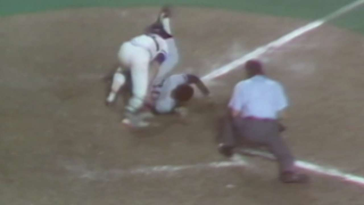 1980 ALCS Gm2 Randolph Gets Thrown Out At Home