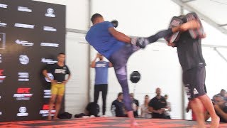 Alex Oliveira UFC Sao Paulo Open Workouts (Complete) - MMA Fighting