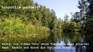 Die 3-Seen-Tour (Rätzsee, Gobenowsee, Labussee)