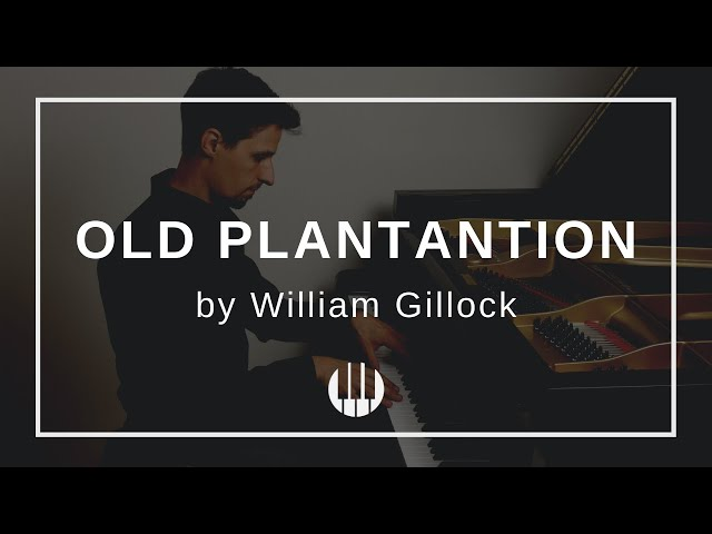Old Plantation by William Gillock