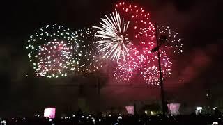Passagem de ano @ Lisboa 2017 - Praça do Comércio - Fogo de Artifício - Parte Final